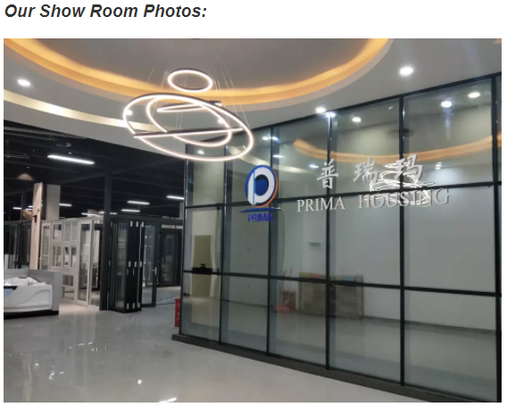 Low cost white aluminum alloy frame glass window