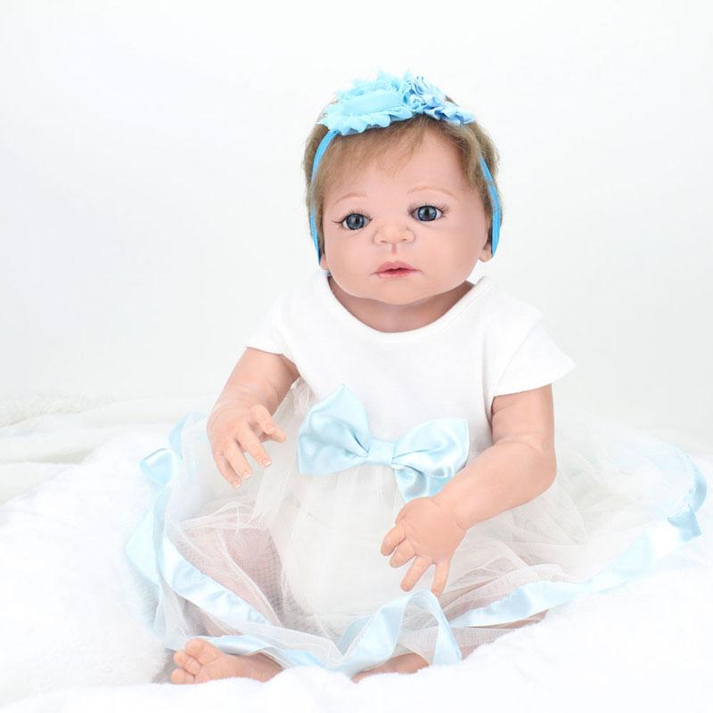 Sgdoll 2016 New 22 Handmade Lifelike Reborn Baby Girls