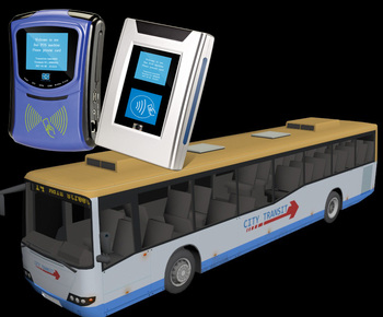 Bus Ticket QR Code Scanner for Bus Payment System to Management Financial Payment on Bus