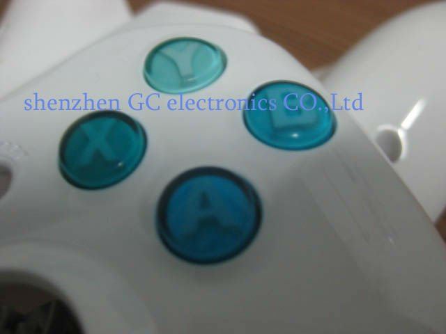 Blue colors ABXY Buttons for xbox360 wireless controller ,customizd colors , many color