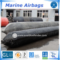 Marine Rubber Airbag for ship launching salvage airbags for ships factory sale directly