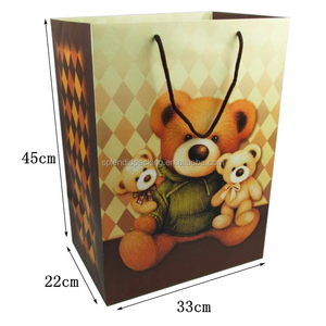 Yiwu OEM Good Quality Gift Bag Factory Price Printed Shopping Bag Paper