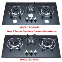 Hot sales 3 burner gas hobs (RD-BI070 & RD-BI071)