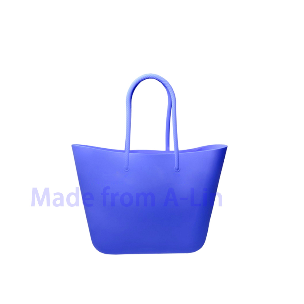 fashion handbag 2016 beach bag silicone ladies shopping bags