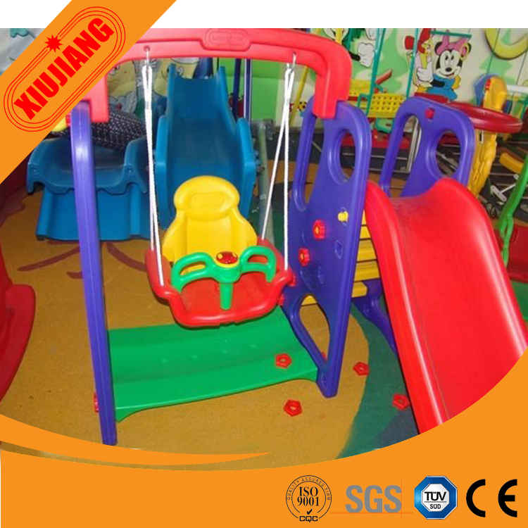 Baby Play Set Indoor Plastic Slide And Swing For Sale - Buy ...