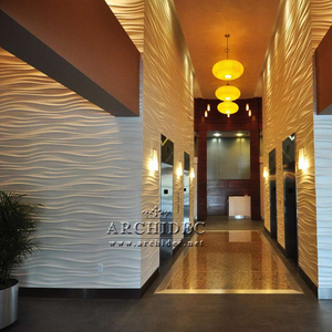 hotel decor 3d wall panel 3d board interior decoration best choice