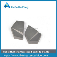 E210 Hard alloy metal solid cutting blade tips for metal working process