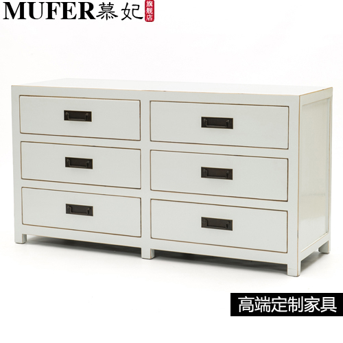 Living Room Furniture For Corner Cabinet: Living Room Minimalist New Chinese Wood Cabinets Drawers