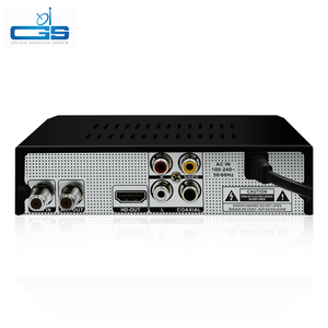 high definition support IPTV stb dvb-s2 combo receiver sharing Ali 3510C