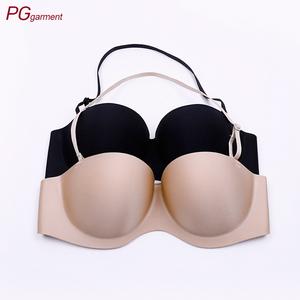 9f323c5f38b China supplier new design strapless bra lightly padded backless stylish  very sexy push up bra high