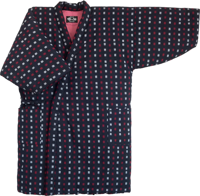 Japan Kimono-style Cute Childrens Hanten of Gingham Check Boys/&girls