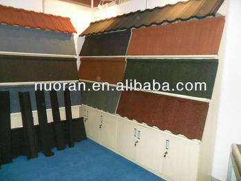 Al Zn Stone Coated Metal Roofing Sheet For Construction