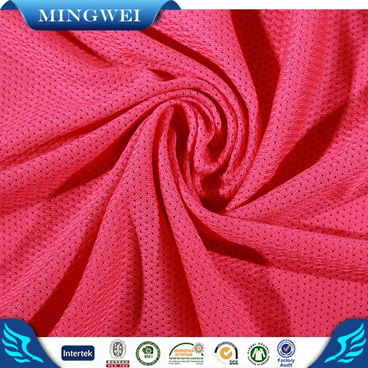 Buy mesh fabric for athlete from alibaba gold supplier