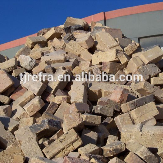 used fire brick scrap for refractory