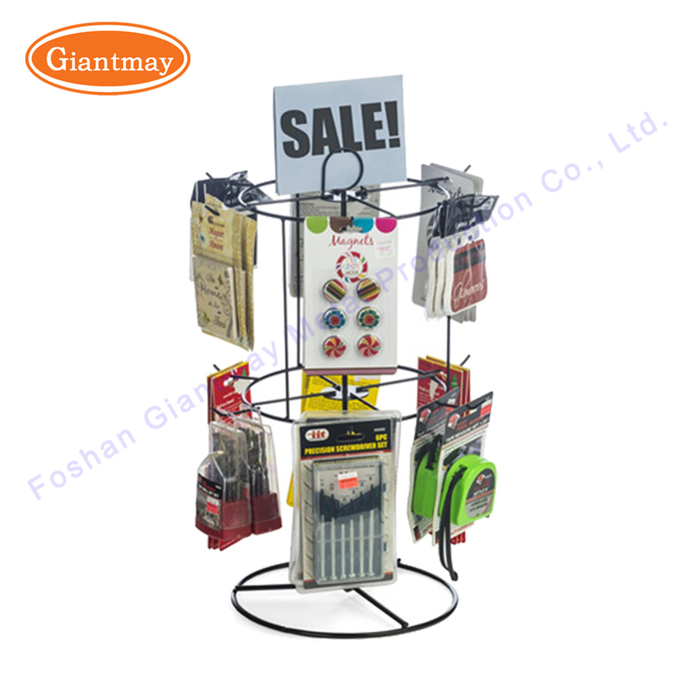 Countertop Spinner Display Rack With Hooks, Countertop Spinner ...