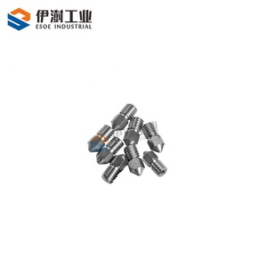 non metal coating YG8 cemented carbide 3D printing nozzle standard size carbide 3D printing nozzle for 3D printing machine