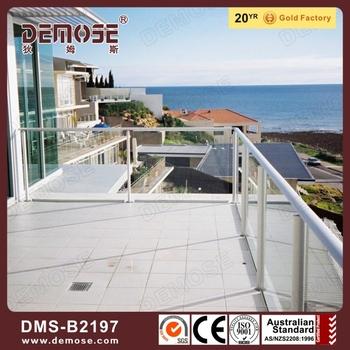 Balcony Glass Railing Cover/hand Railing/balutrade - Buy ...