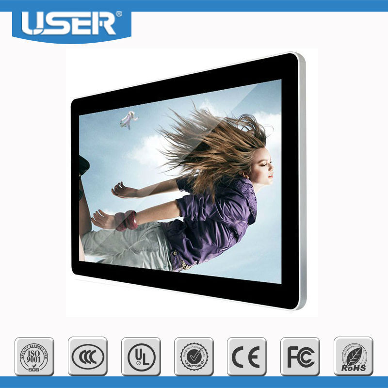 22inch special Ipad Design Wall Mount LCD Digital Signage online edition
