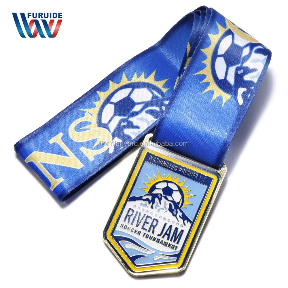 Modelo existente Medalha de Garantia de Qualidade Baixo Preço do Metal Medalha de Esportes Em Branco