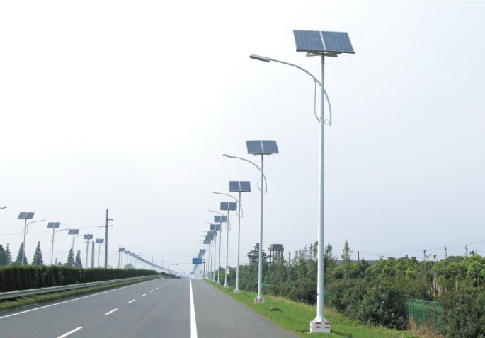 2015 Hot Selling Solar Power Energy Street Light Pole With Ce ...