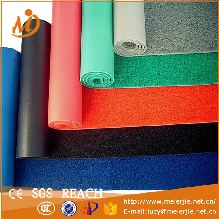 2016 Hot Sale Pvc Floor Mat Pvc Coil Carpet With Foambacking