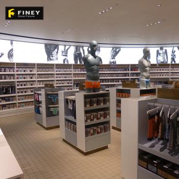 Famous Brand Mens Underwear Store Interior Design In Display Rack ... 66034dda8b6d