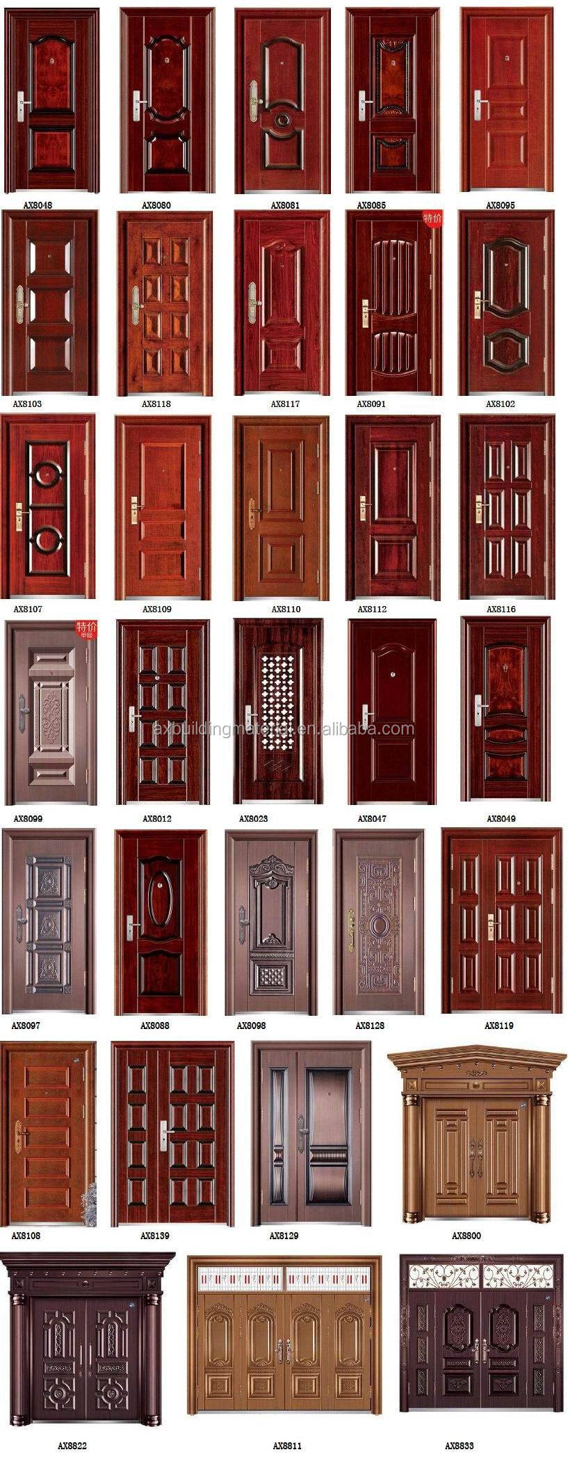 new design stong metal doors