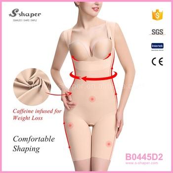 S Shaper Photos Girl Xxx Girls Slimming Underwear Sleeveless Caffeine Infused Bodysuit B0445d2