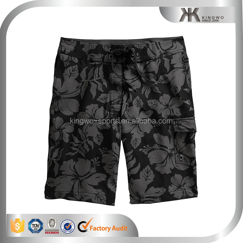 Latest OEM Printing Method Solid Color Icing Shorts Men MMA Shorts