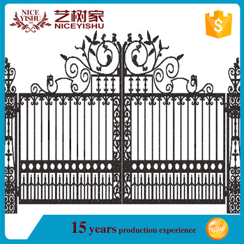 New Design Of School Gate/cheap Simple Morden Main Gate Designs ...