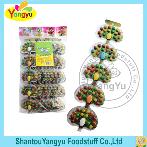 High quality lovely present sweet nut bean kids custom chocolate
