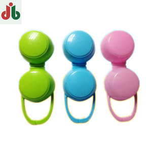 Hot sale New plastic PP pacifier case, pacifier soother cover, infant pacifier package with injection mould