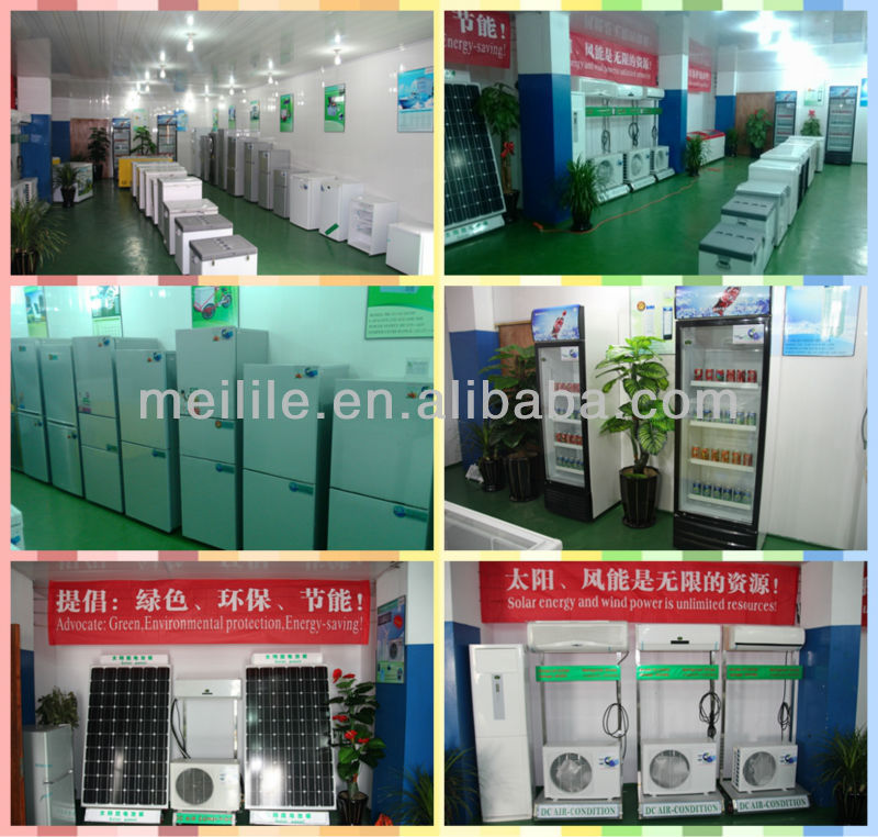 home use solar power refrigerator three door BCD-218T