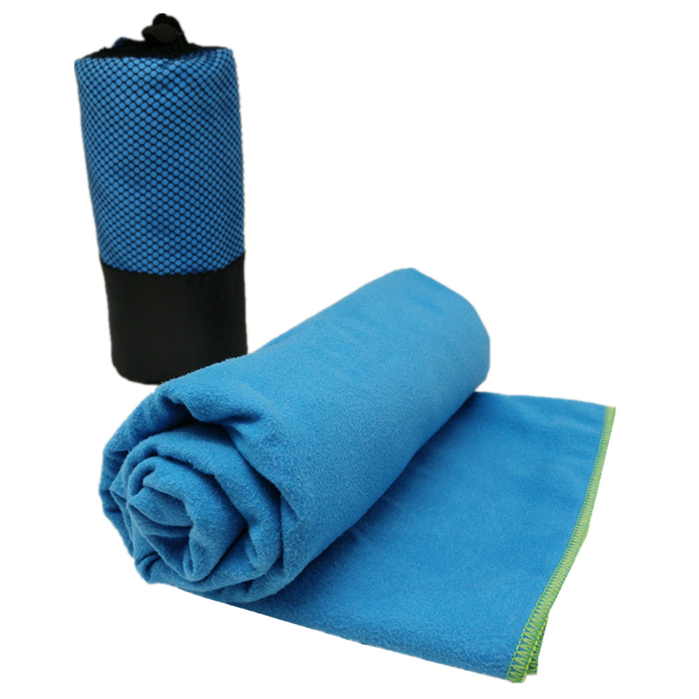 Microfibre Cotton Beach Bath Towel Sports Travel Camping Gym Lightweight 3 Size