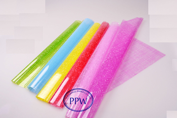 Printed Colored Wrapping Flower Waterproof Cellophane Paper - Buy ...