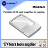 Super Thin Portable 3x 6x Dual Magnifications Led Light Credit Card Magnifier For The Elderly Reading