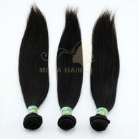 Soft and tangle free 6A virgin straight hair cambodian hair 100% human hair extensions