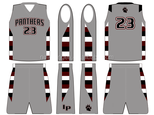 Custom sublimation printing reversible basketball jerseys with lycra,team basketball wear for team