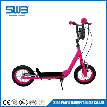 Kids Kick Scooter Two Wheels,With 12