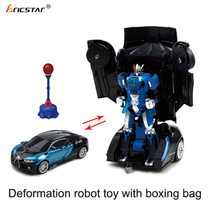 Bricstar infrared control fighting deformation robot toy, boxing battle robot for kids