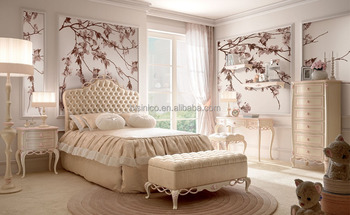 Luxury Antique Bedroom Furniture, Fancy French Style Bedroom Set ...