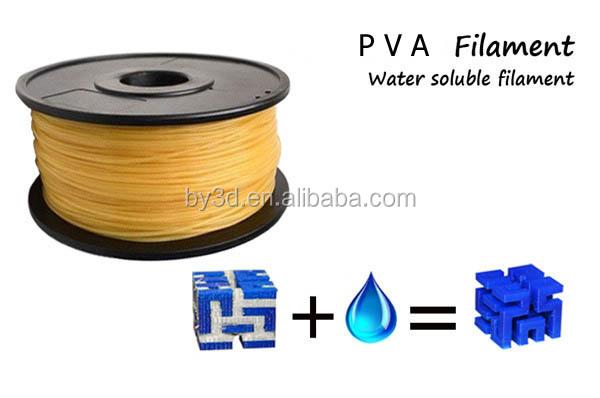 3D Printer  PVA  Water Soluble Filament 1.75mm /& 3mm Polyvinyl Alcohol