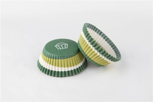 Latest product good quality environmental green cupcake wrappers