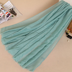 Beautiful Stone Studded Large Oversized Maxi Soft Shawl Scarf Hijab Scarf with fashion stone
