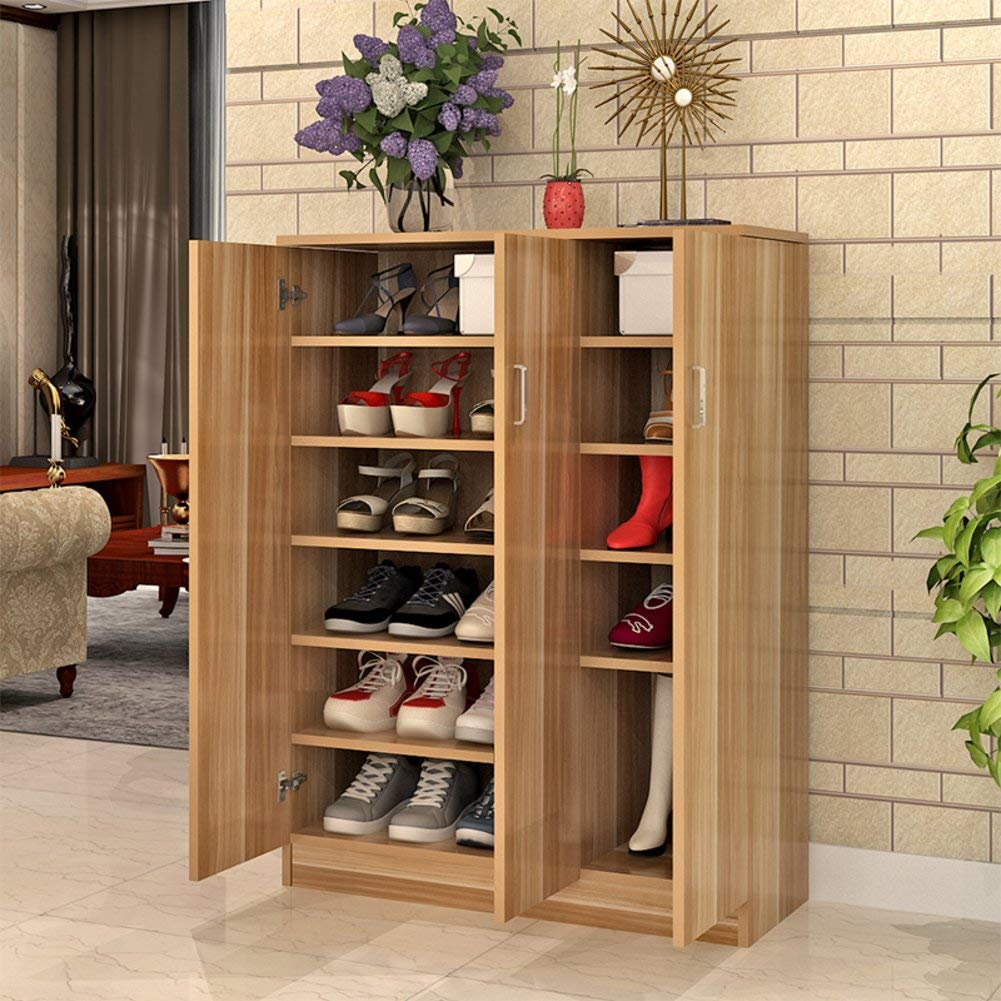 Get Quotations Multifunctional Shoe Rack Living Room Cabinet Simple And Modern Wooden Multi