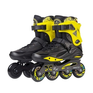 Freestyle professional sports outdoor inline speed derby skates