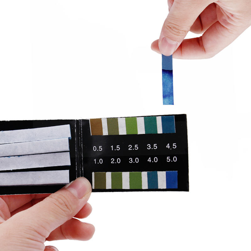PH 0.5-5.0 Litmus Paper Acidity PH Paper High Accurate Quality litmus Tester Numerical range 80 Strips