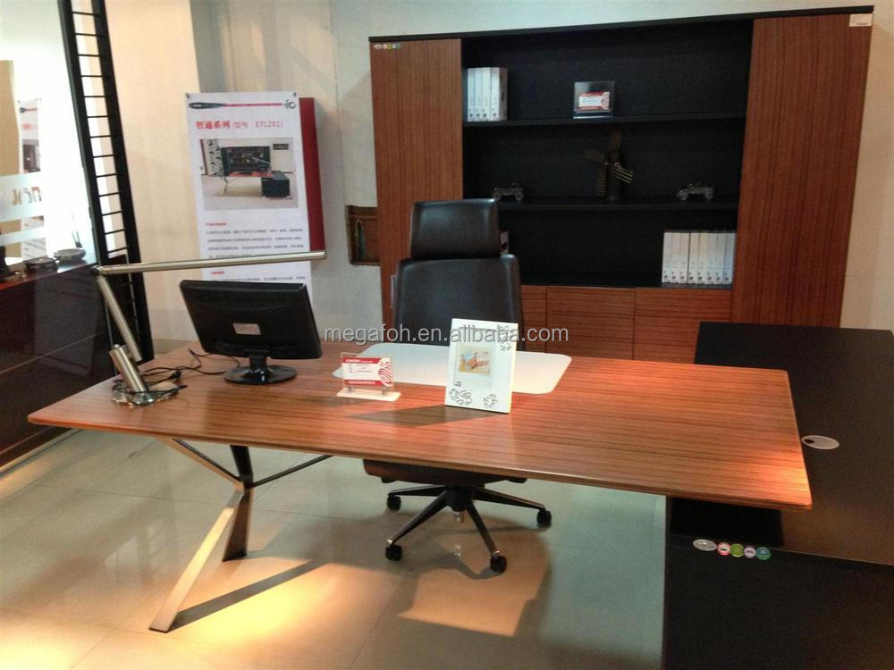 Double Sided Office Desk With Drawers For 2 People(FOH N2224 2)
