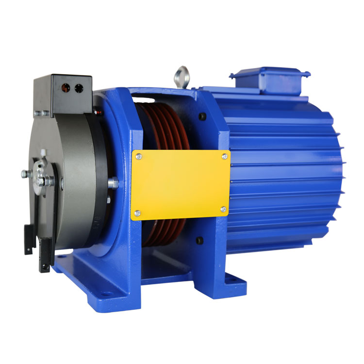 Elevator Motor Machine,Permanent Magnet Motor For Elevator ...