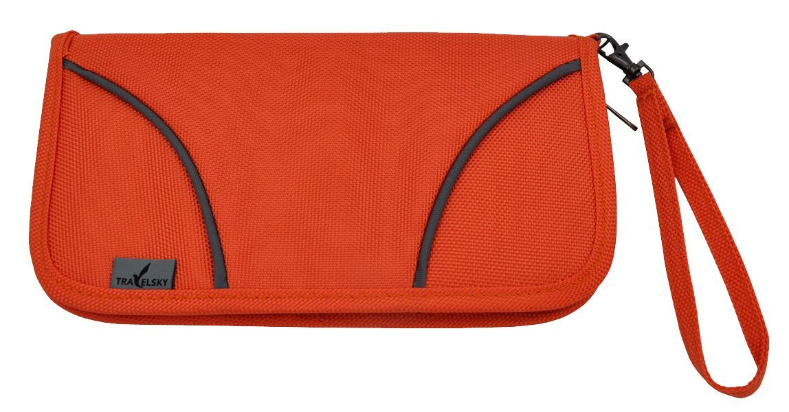 Rfid Blocking Travelling Handbag - Credit Cards Holder for Men and Women